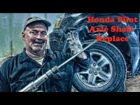 Honda Pilot CV Axle Shaft Replace