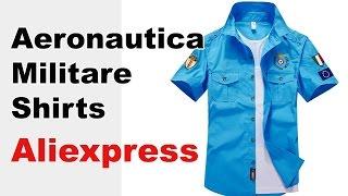 Fashion Aeronautica Militare men short sleeved Shirts
