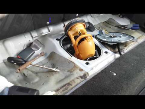 Red's DIY: 2003 Acura fuel pump replacement.
