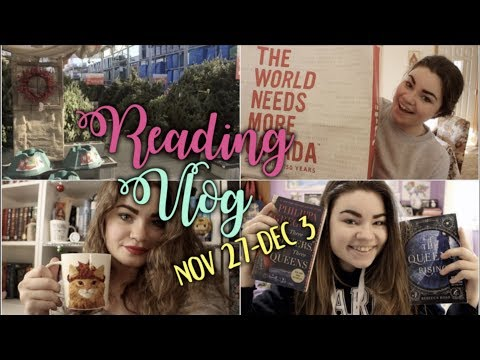 MY BIRTHDAY WEEK | Reading Vlog November 27-December 3