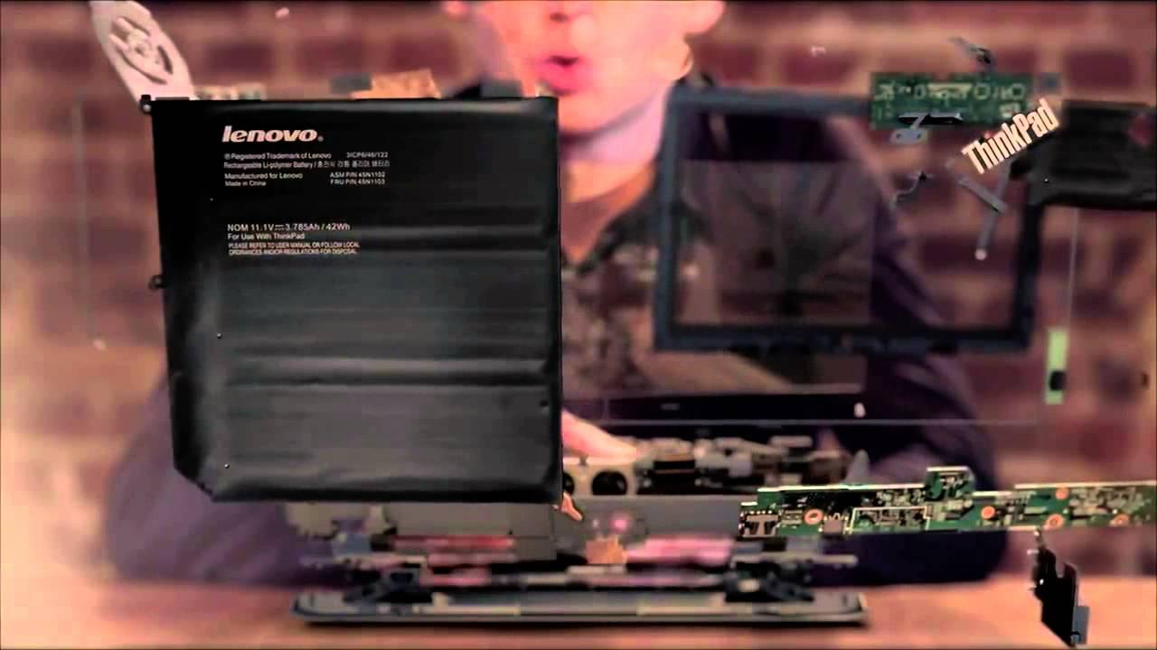 Lenovo ThinkPad Helix - Pub commerciale