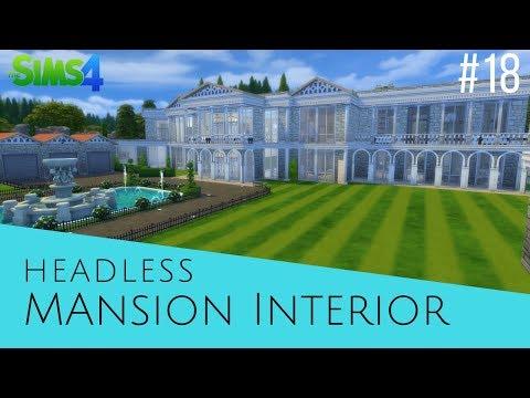 The Sims 4 Speed Build #18 Mansion Interior