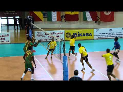 Congo Brazzaville v Seychelles in 2014 Volleyball World Championship Qualifier in Tunisia