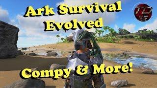Ark Survival Evolved - Rocket Turret, Compy & More!