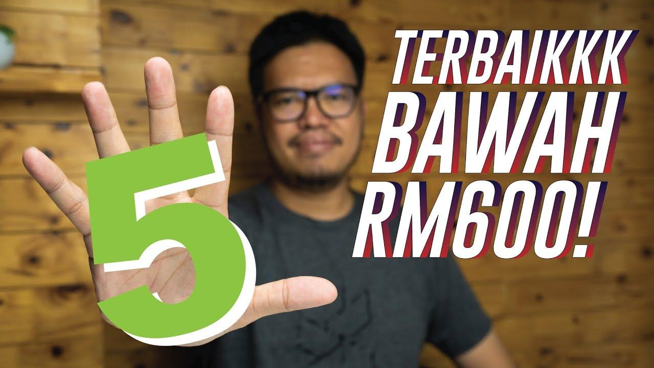 5 telefon terbaik bawah RM600 di Malaysia (Februari 2020)