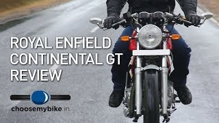 Royal Enfield Continental GT : ChooseMyBike.in Road Test Review