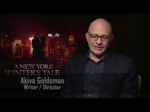Director Akiva Goldsman Interview - A New York Winter's Tale Mp3