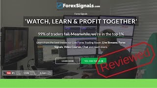 ForexSignals.com Review - Is It Right For You? (Pros And Cons)