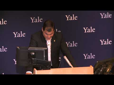 Discurso Público por su Excelencia Rafael Correa Delgado, Presidente de la República de Ecuador