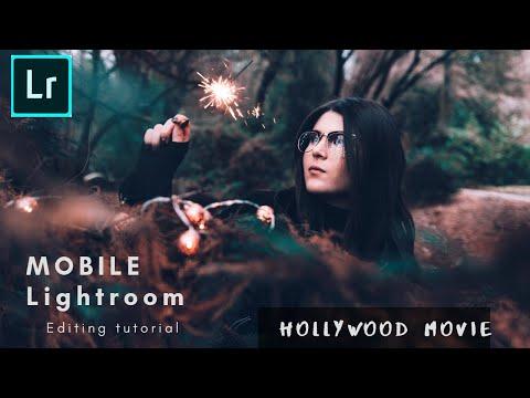 Portrait Editing In Mobile Lightroom| Hollywood Effect | Color Grading