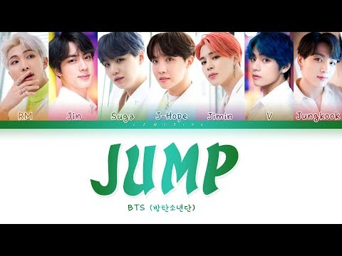 BTS - JUMP ( - JUMP) [Color Coded Lyrics/Han/Rom/Eng/]