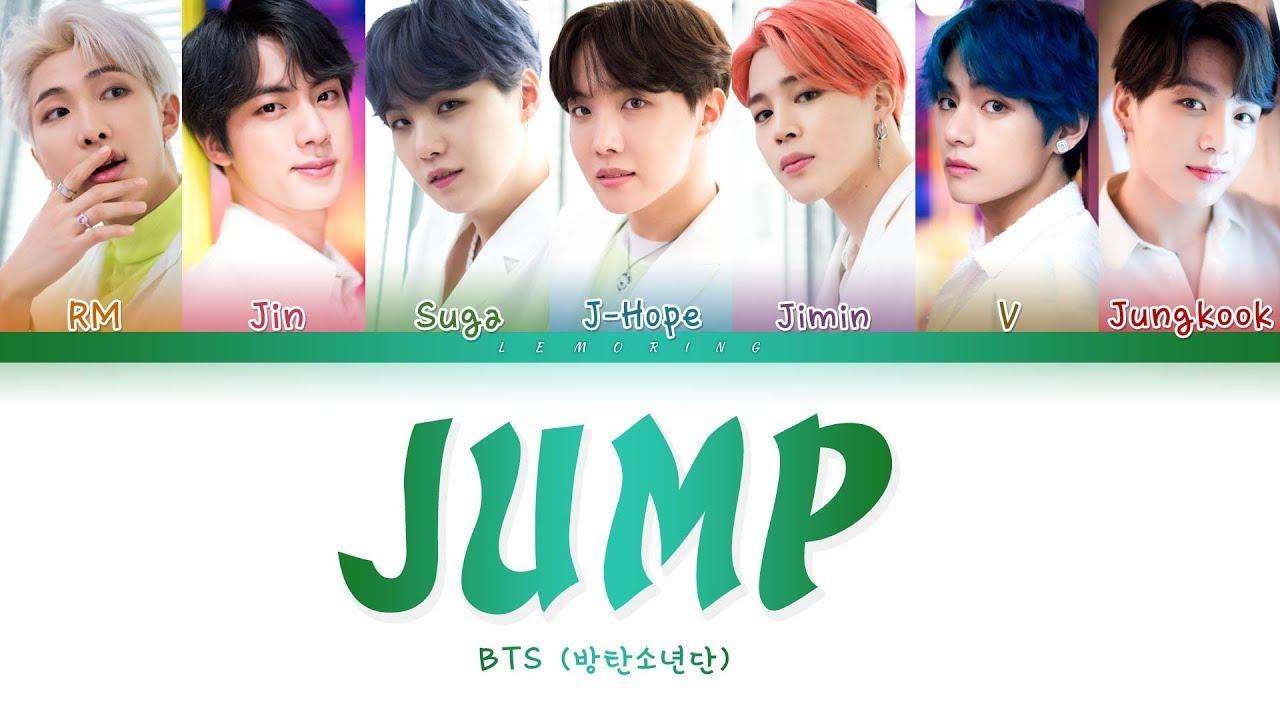 BTS - JUMP (방탄소년단 - JUMP) [Color Coded Lyrics/Han/Rom/Eng/가사]