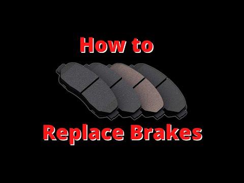 Replacing Brakes on a 2006 Dodge Caravan.