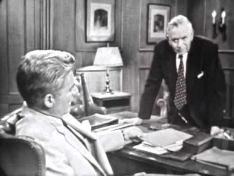 William Hopper  Screen Test as 'Perry Mason' 1956
