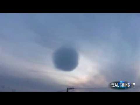 REAL DEATH STAR? Bizarre spherical cloud