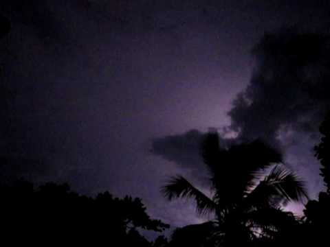 Lightning over the Gulf of Gonave