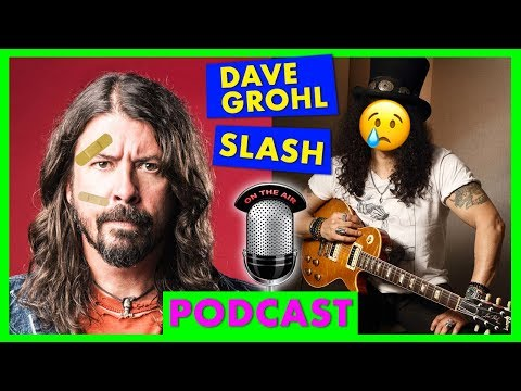 SLASH viene RIFIUTATO e DAVE GROHL cade… DI NUOVO! [Chitarra da Bar]