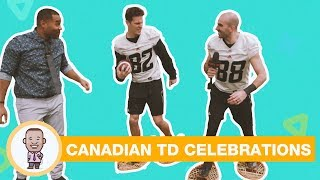THE MOST CANADIAN TOUCHDOWN CELEBRATION IDEAS ON CABBIE PRESENTS