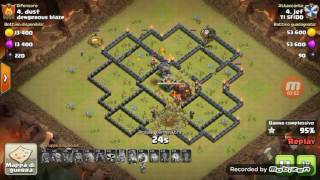 TH9 3 STAR GOLALOON - Clash Of Clans