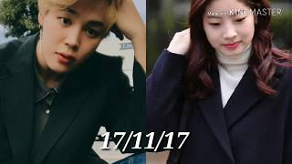 DAHMIN SINCE 2015 TO FOREVER WITH EVIDENCES.(JIMIN❤DAHYUN) LOVE NEVER CHANGES IT'S FOREVER THE SAME.