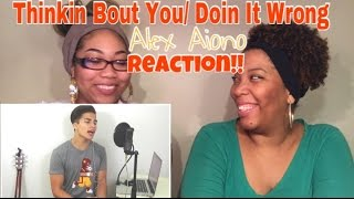 drake and frank ocean mashup   thinkin bout you and doing it wrong   alex aiono reaction