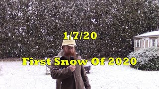 #WeatherReport - 1st Snow of 2020!