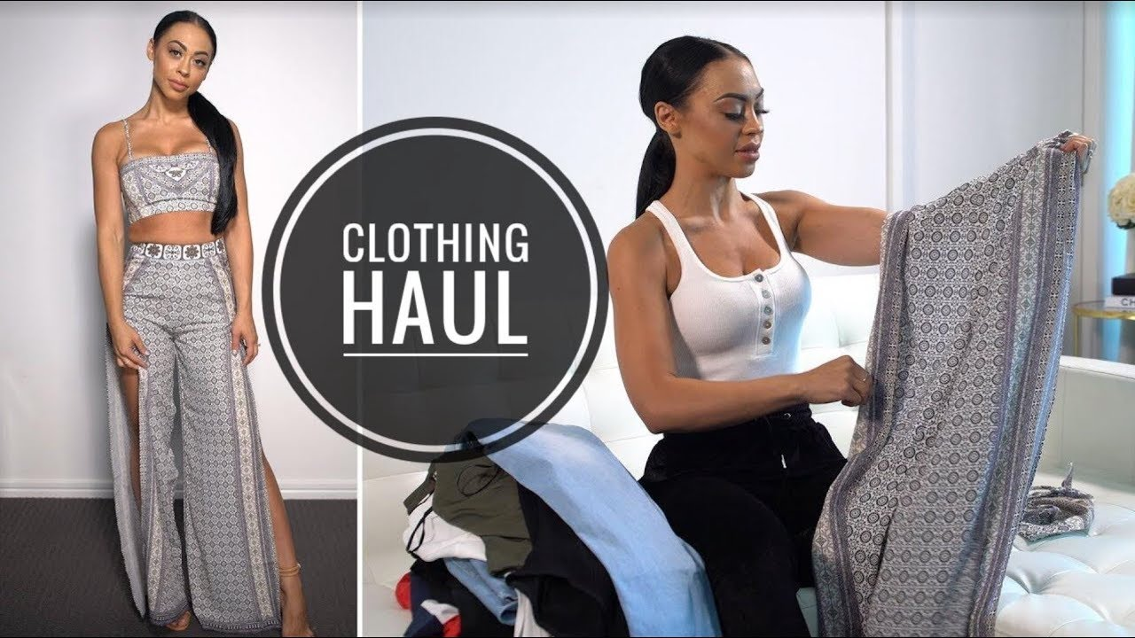 clothing haul try on white fox boutique youtube. Black Bedroom Furniture Sets. Home Design Ideas
