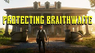 RDR 2 ROLEPLAY: PLANTATION GUARDS - PROTECTING BRAITHWAITE MANOR! (RDRP)