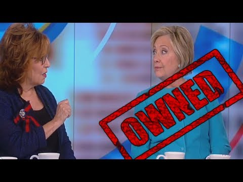 Hillary Clinton Embarrasses Herself on The View with Joy Behar and Whoopi Goldberg - The View