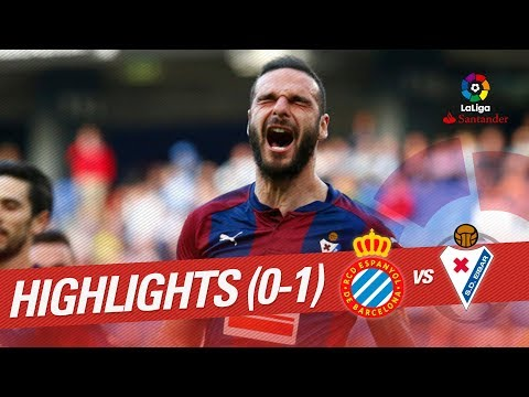 Resumen de RCD Espanyol vs SD Eibar (0-1)