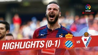 Resumen de RCD Espanyol vs SD Eibar 0-1