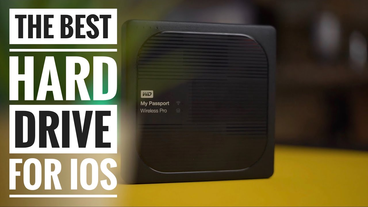 WD My Passport Wireless Pro Hard Drive Review- Best Hard Drive For iPad And iPhone