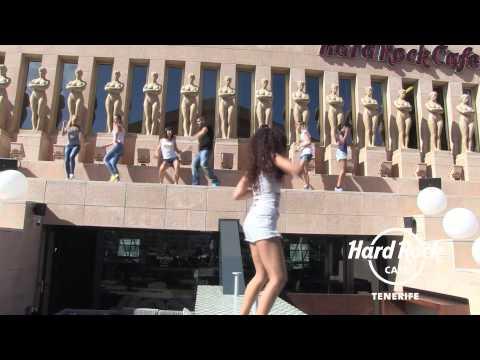 Hard Rock Cafe Tenerife Flash Dance!