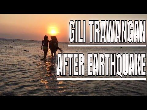 GILI TRAWANGAN RECOVERY : HOW IT LOOKS LIKE AFTER  EARTHQUAKE?