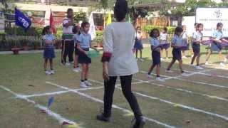 Aashritha - Sports Day - 2013 - Fun race