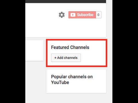 how to add related channels on youtube (Easy)