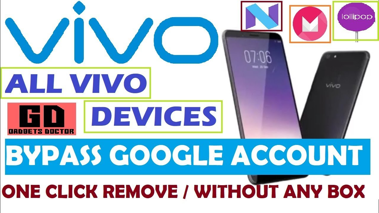 All Vivo Mobile Frp Google Account Bypass
