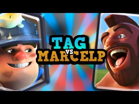 PRO VS PRO :: Marcelp vs Tag :: BEST OF THE BEST in Clash Royale