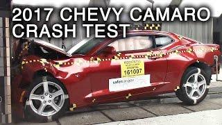 2017 Chevrolet Camaro Frontal Crash Test