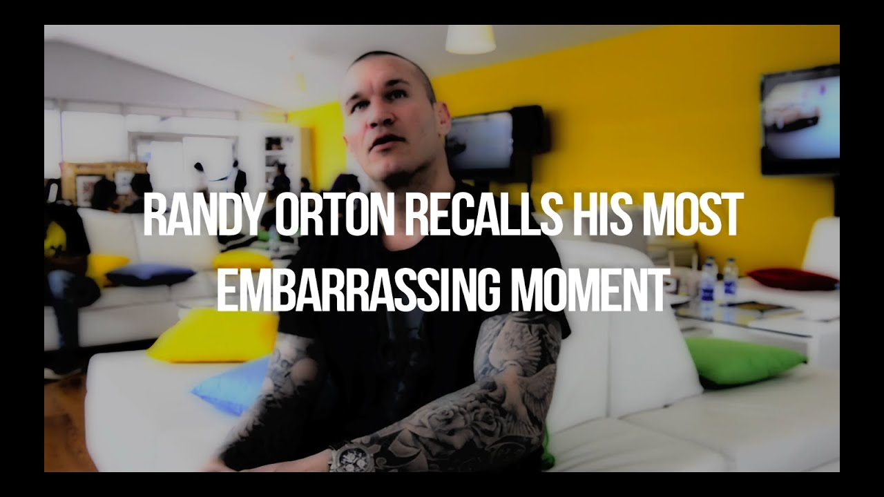randy orton s most embarrassing moment