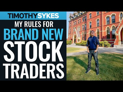 My Rules for Brand New Stock Traders
