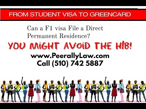 From Student Visa (F1) directly to Green Card