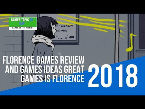 Florence Games review and games ideas great games is Florence