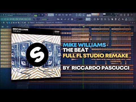 Mike Williams - The Beat [FULL FL Studio Remake + FREE FLP]