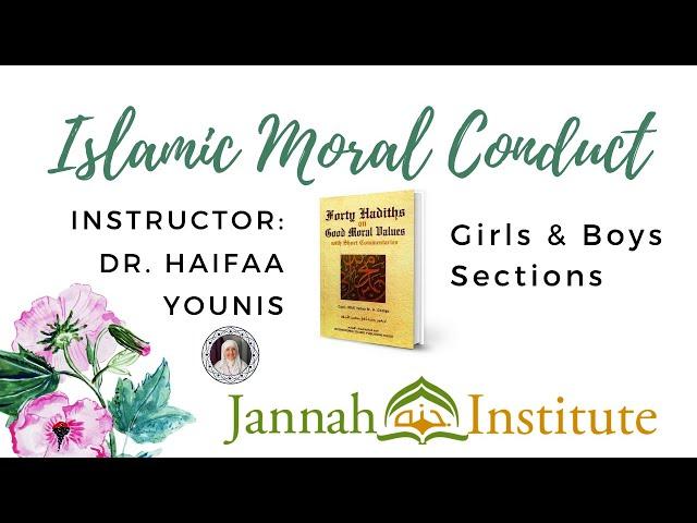 Islamic Moral Conduct Promo Video