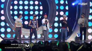 [Fancam/MPD직캠] 150618 ch.MPD Mcountdown SHINee off the record / f...