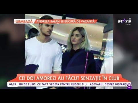 Alina Eremia și iubitul ei, senzație în club