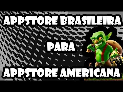 Como mudar sua conta da AppStore Brasileira para AppStore Americana !