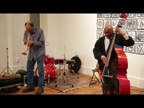 William Parker & Daniel Carter - NYC Free Jazz Summit / Arts for Art - March 31 2016