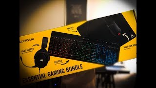 FIRST LOOK: Corsair Essential Gaming Bundle Black Friday Deal